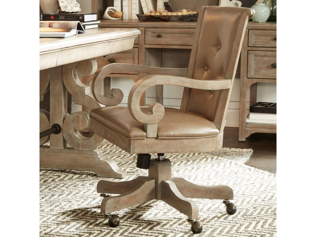 Magnussen Home Tinley ParkUpholstered Swivel Chair
