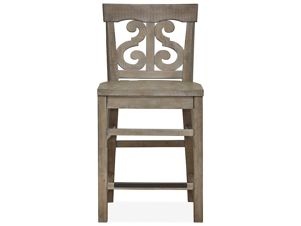 Magnussen Home Tinley ParkCounter Desk Chair