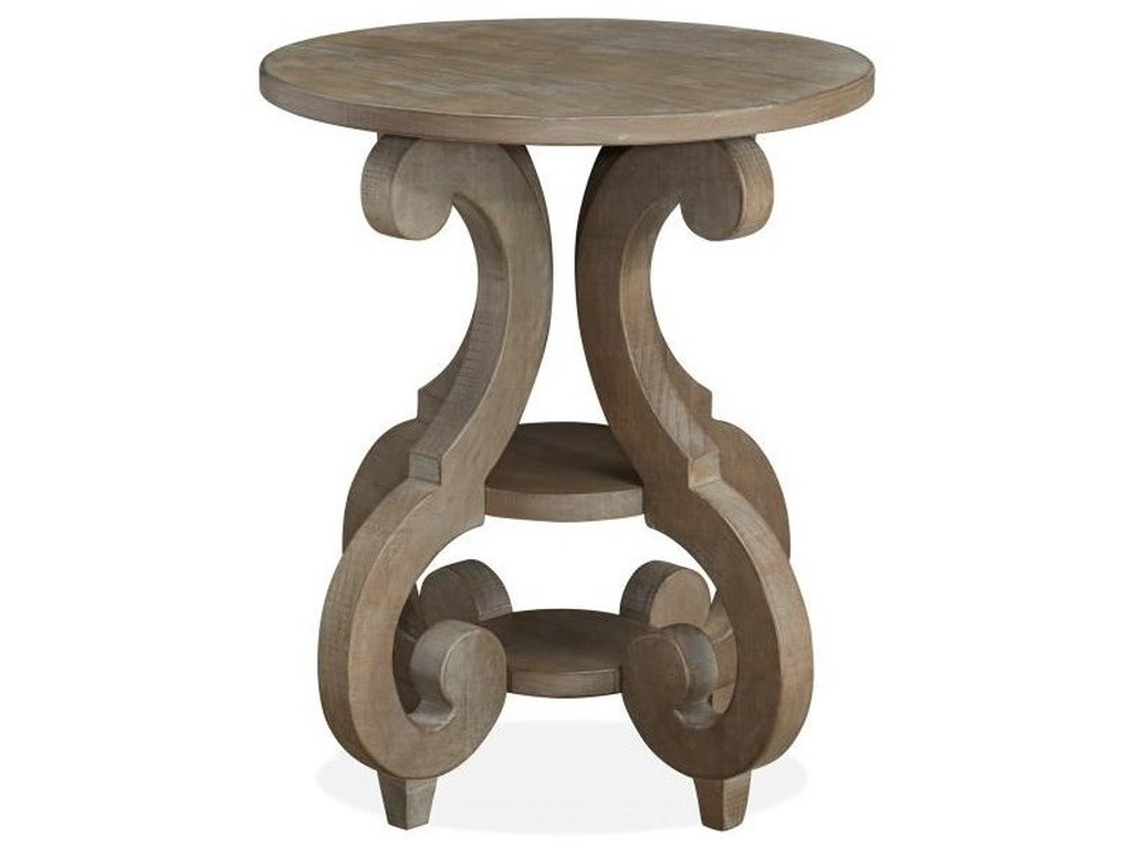 Magnussen Home Tinley ParkRound Accent End Table