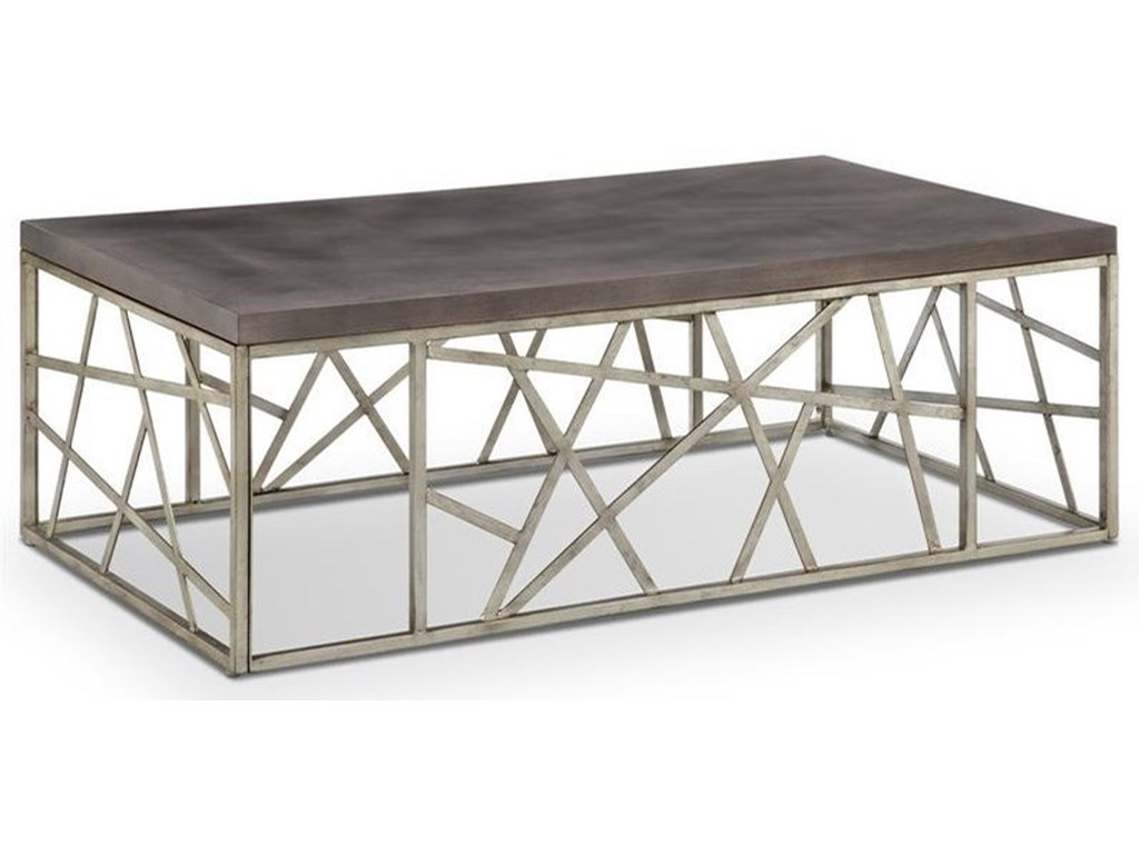 Magnussen Home Tribeca T4020Rectangular Cocktail Table