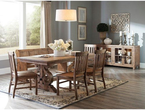 Magnussen Home Willoughby Casual Dining Room Group   Pilgrim ...