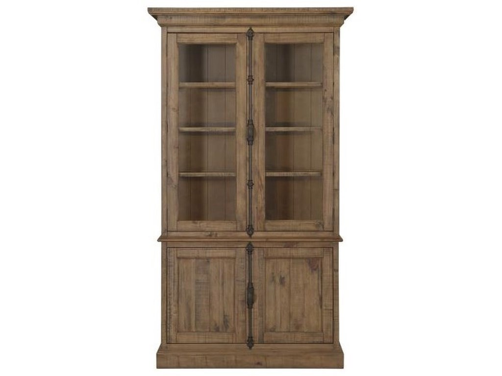 Magnussen Home WilloughbyGlass Door China Cabinet