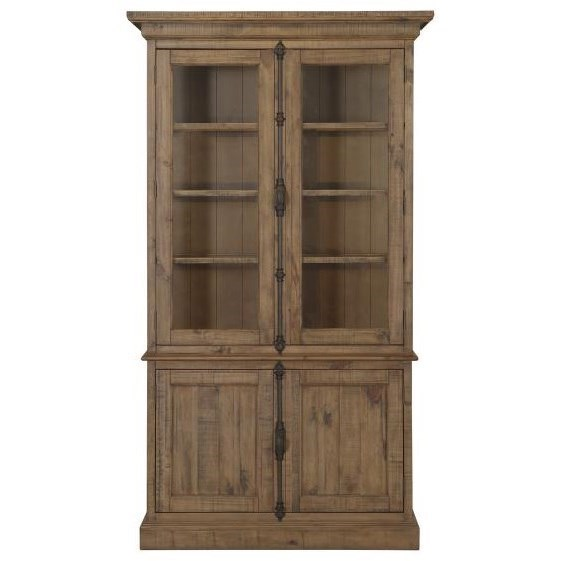 Magnussen Home WilloughbyGlass Door China Cabinet ...