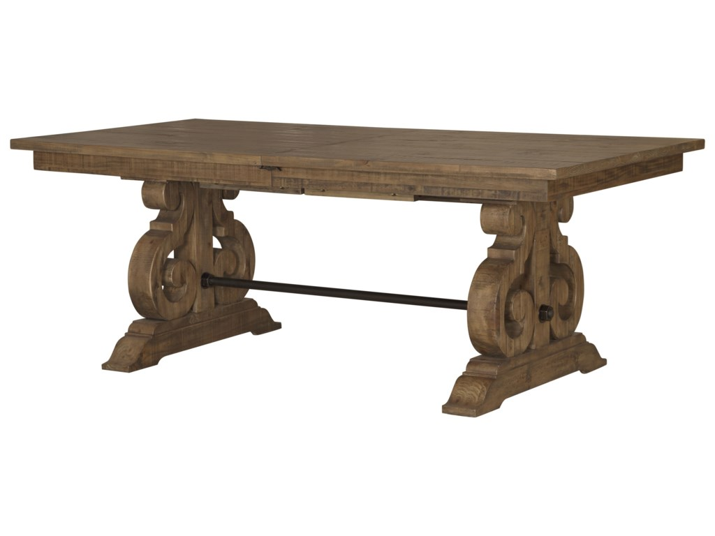 Magnussen Home Willoughby6-Piece Table Set with Bench