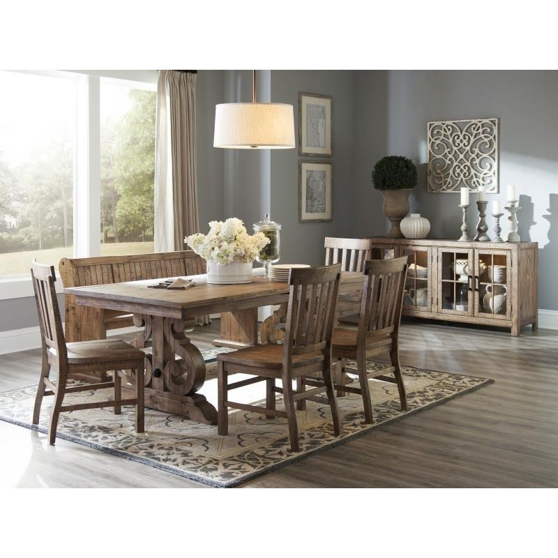Magnussen Home Willoughby Rectangular Dining Table With Butterfly Leaves