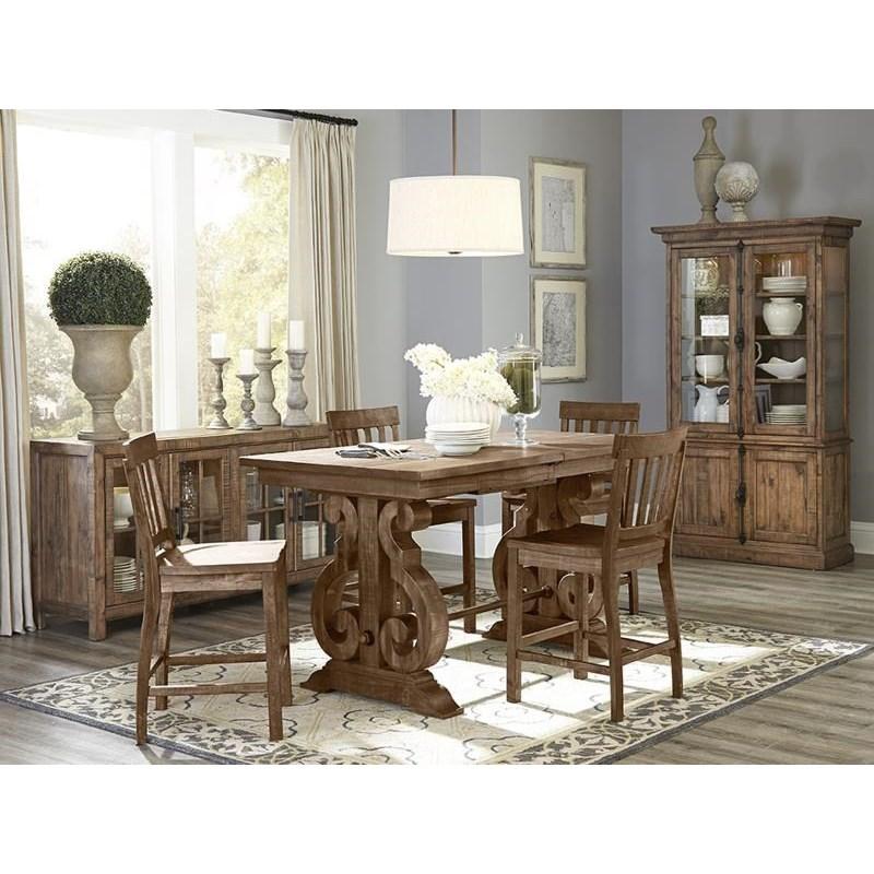 ... Magnussen Home WilloughbyRectangular Counter Table
