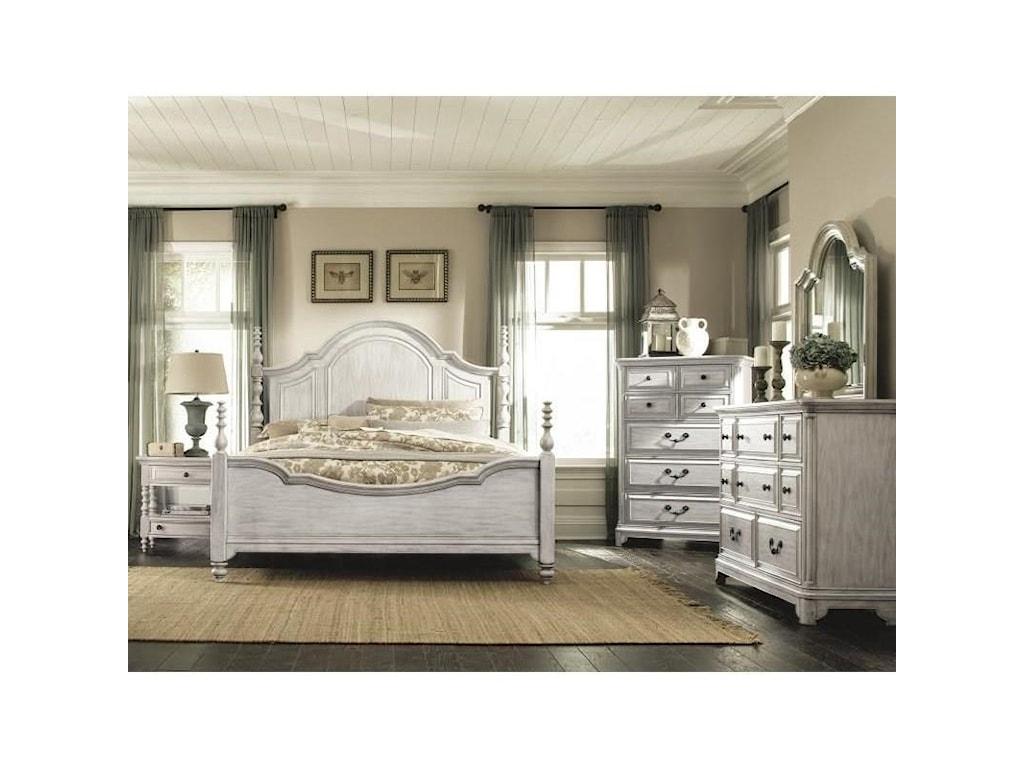 Magnussen Home Windsor LaneQueen Poster Bed