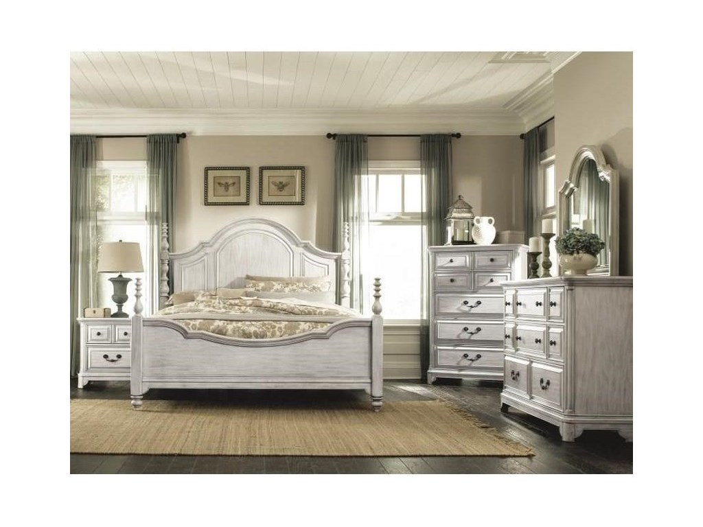 Magnussen Home Windsor LaneCalifornia King Poster Bed