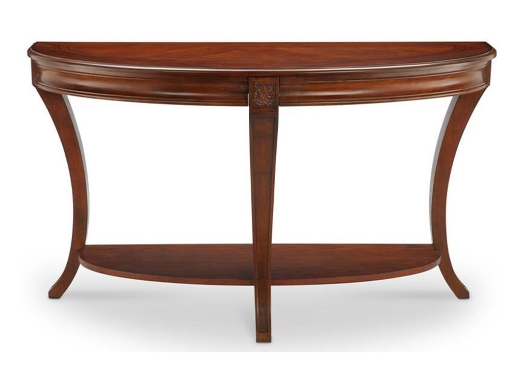 Magnussen Home WinsletDemilune Sofa Table