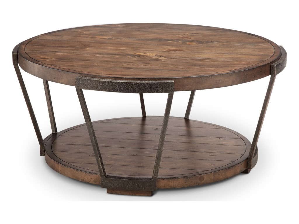 Magnussen Home YukonRound Cocktail Table