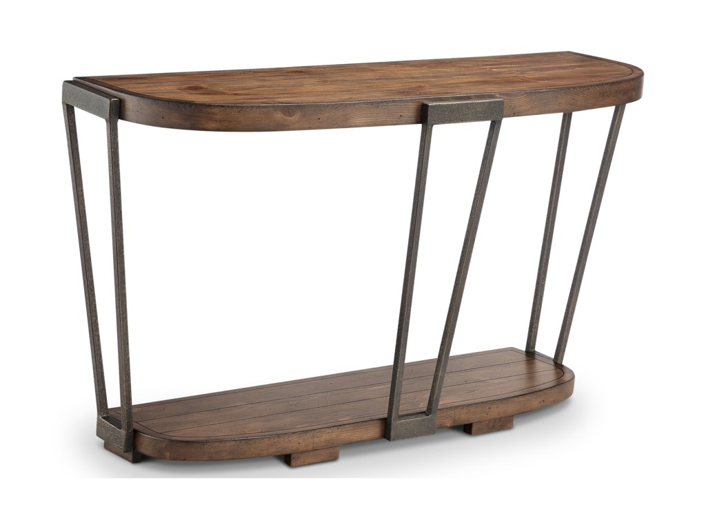 Magnussen Home YukonDemilune Sofa Table