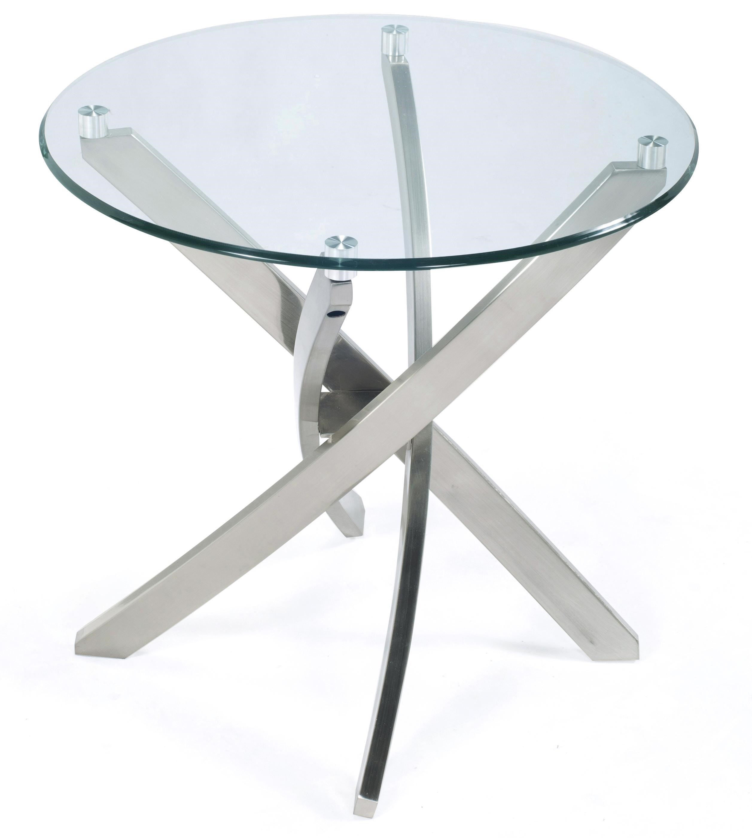 Magnussen Home ZilaRound End Table