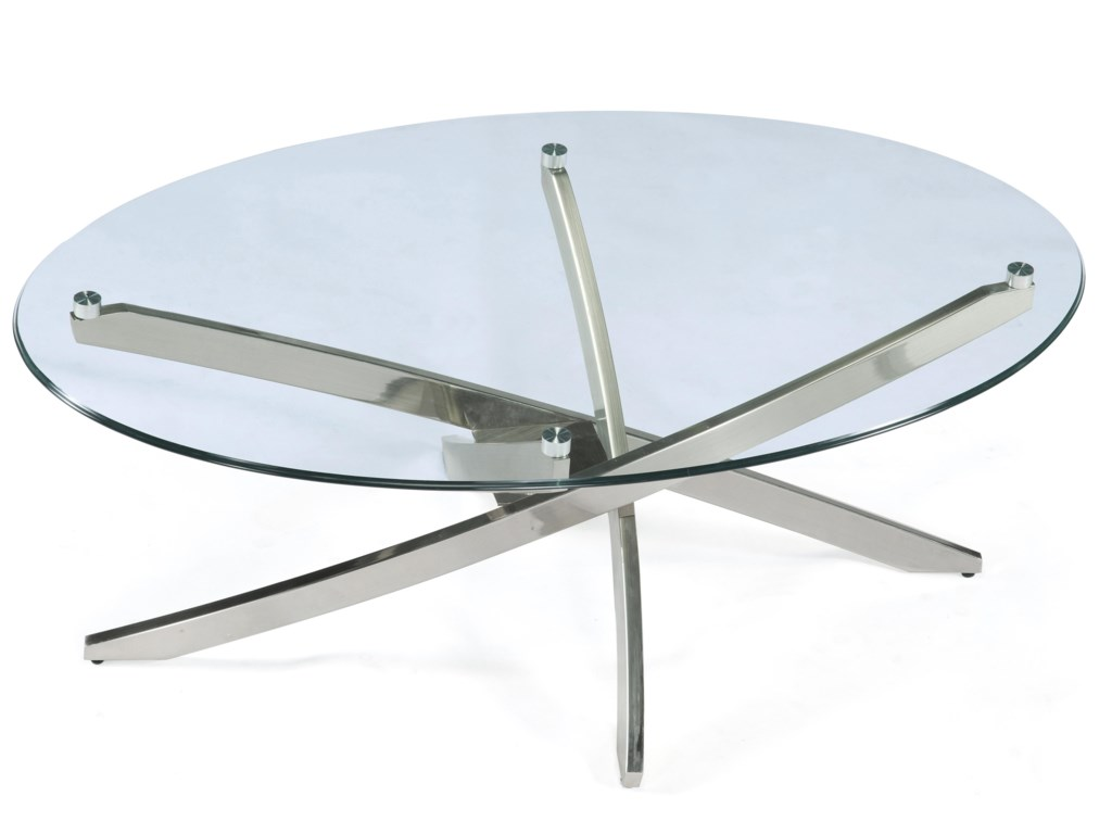 Magnussen Home ZilaOval Cocktail Table