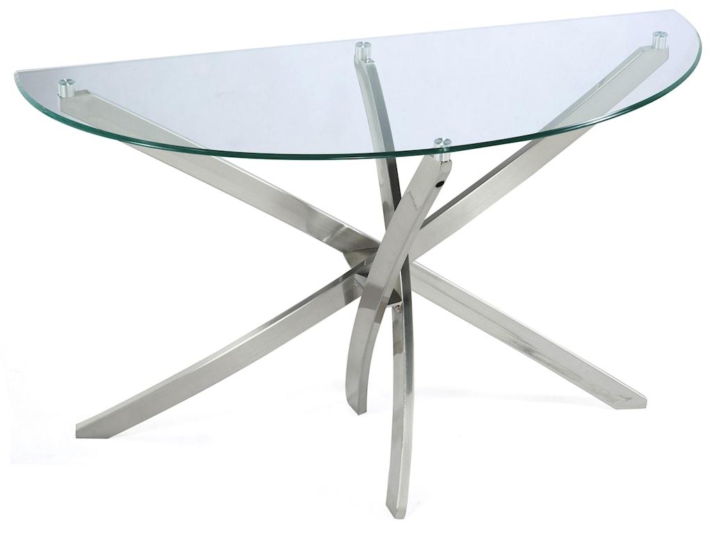 Magnussen Home ZilaDemilune Sofa Table