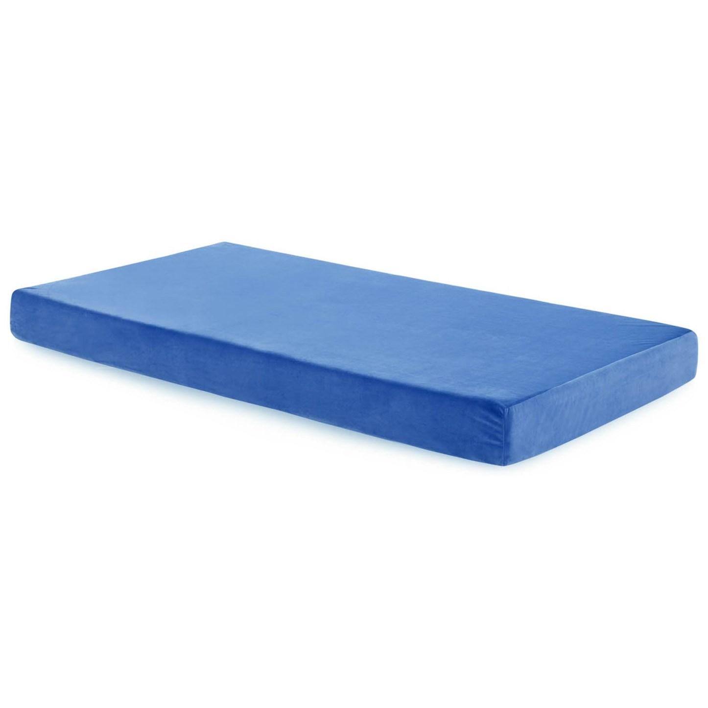 malouf brighton twin youth gel memory foam mattress del sol furniture mattresses