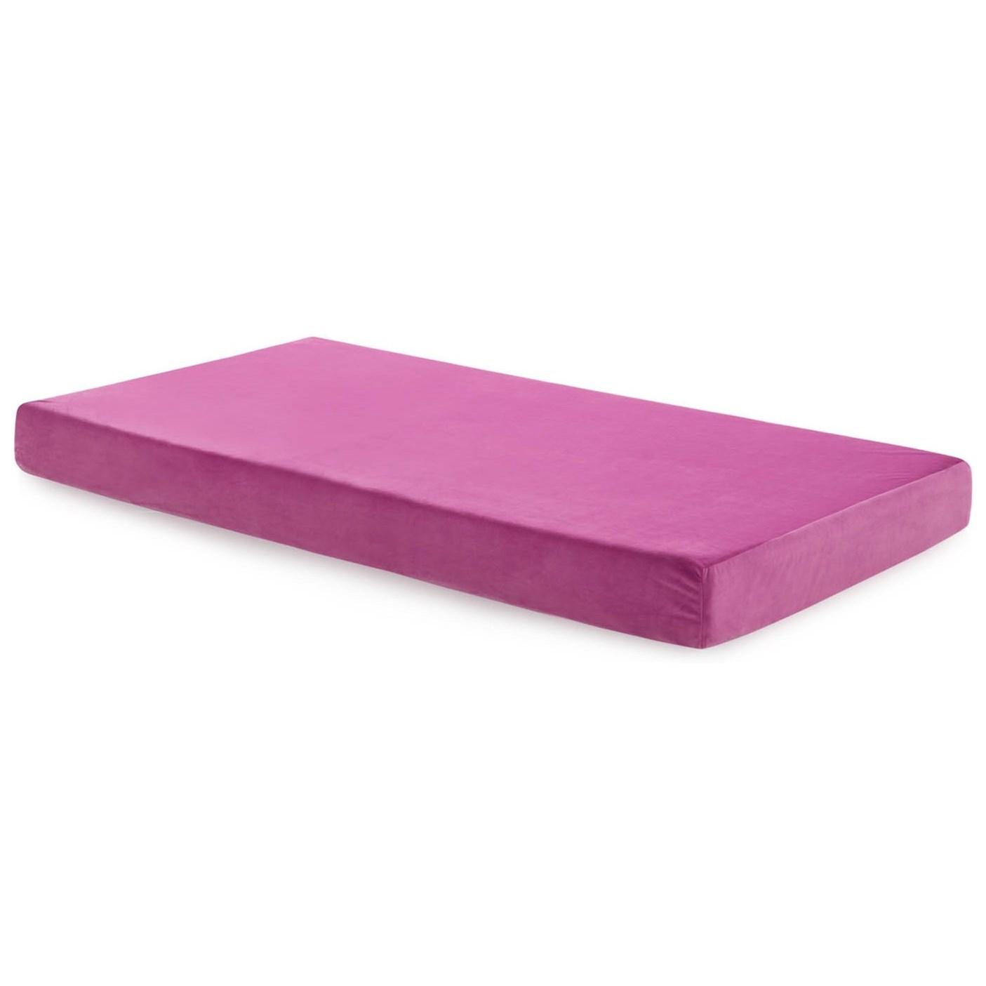 malouf brighton twin youth gel memory foam mattress