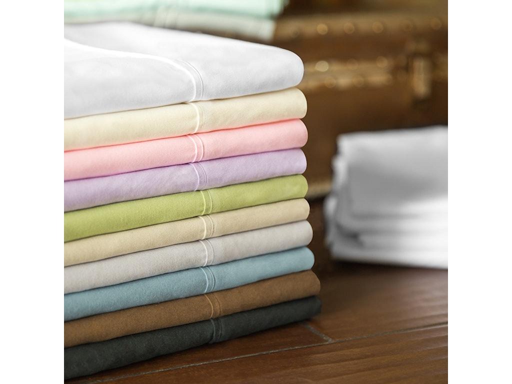 Malouf Brushed MicrofiberQueen Woven™ Brushed Microfiber Pillowcases