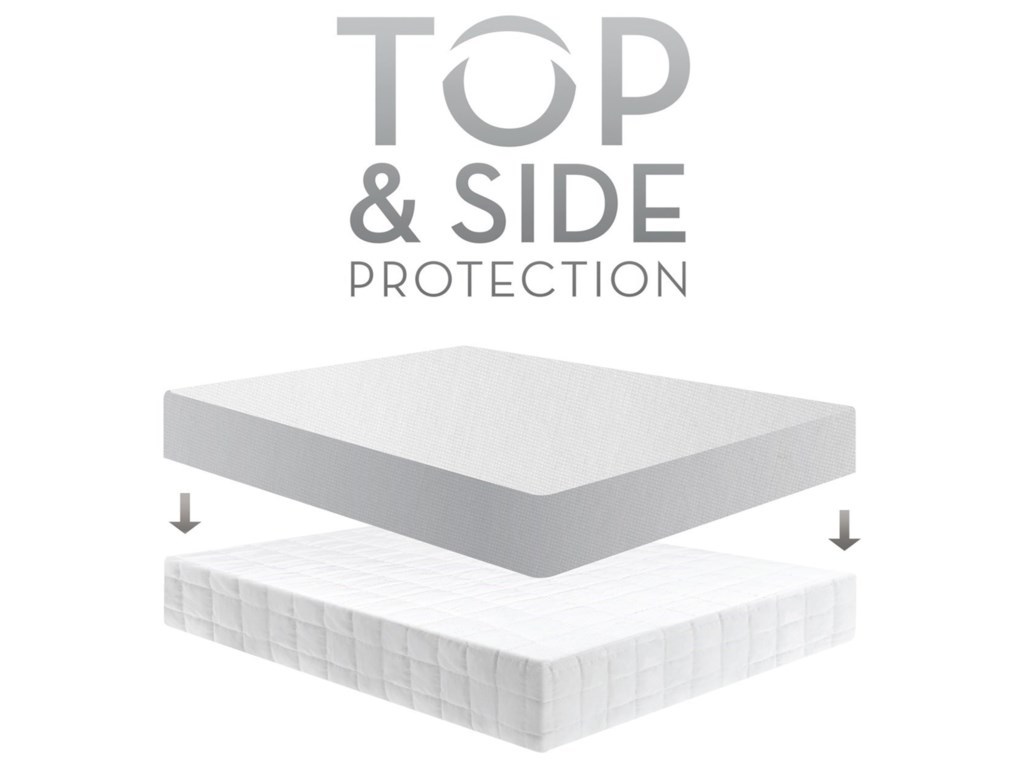 Malouf OmniphaseKing Mattress Protector & 10-Year Warranty