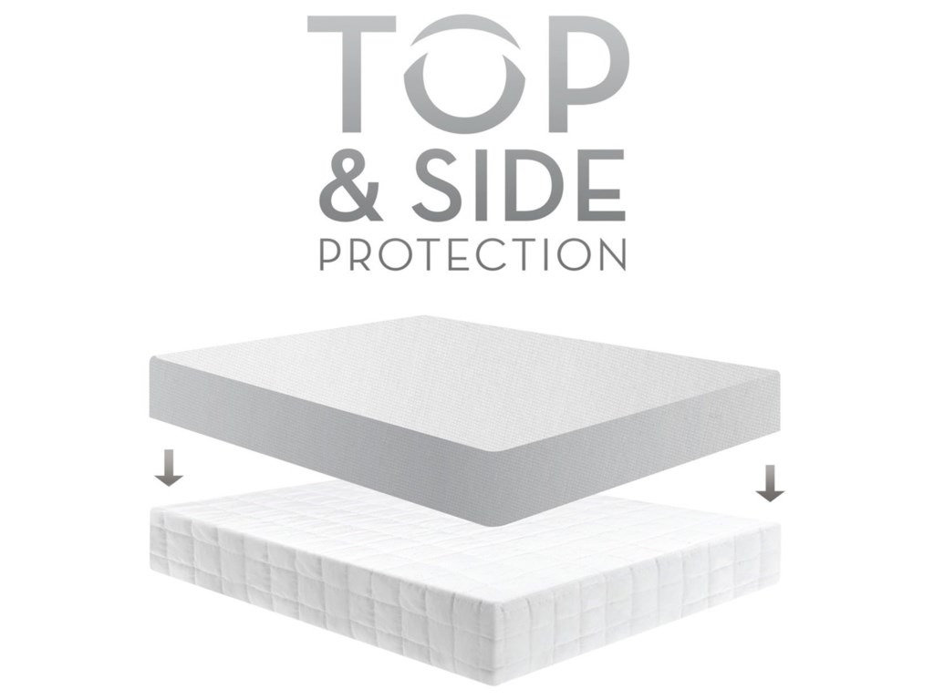 Malouf Five 5ided SmoothFull Five 5ided Smooth Mattress Protector