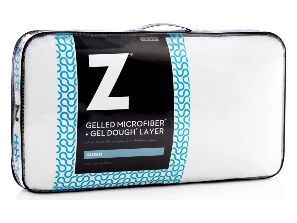 Malouf Gelled Microfiber and Gel DoughStandard Gelled Microfiber+Gel Dough Pillow