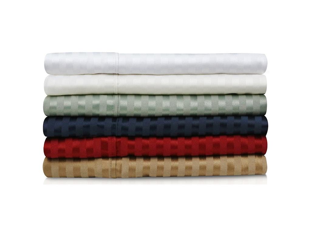 Malouf Premium Cotton300 TC Premium Cotton Blend Queen Pillowcase