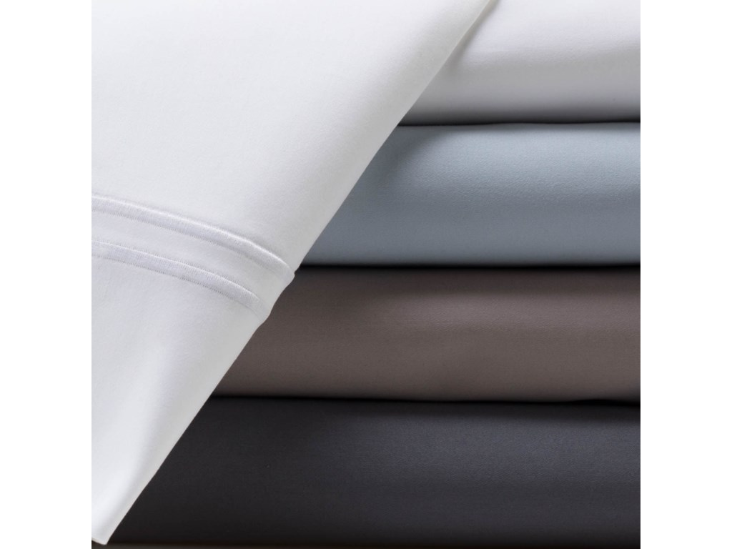 Malouf Supima Cotton SmokeKing Pillowcase