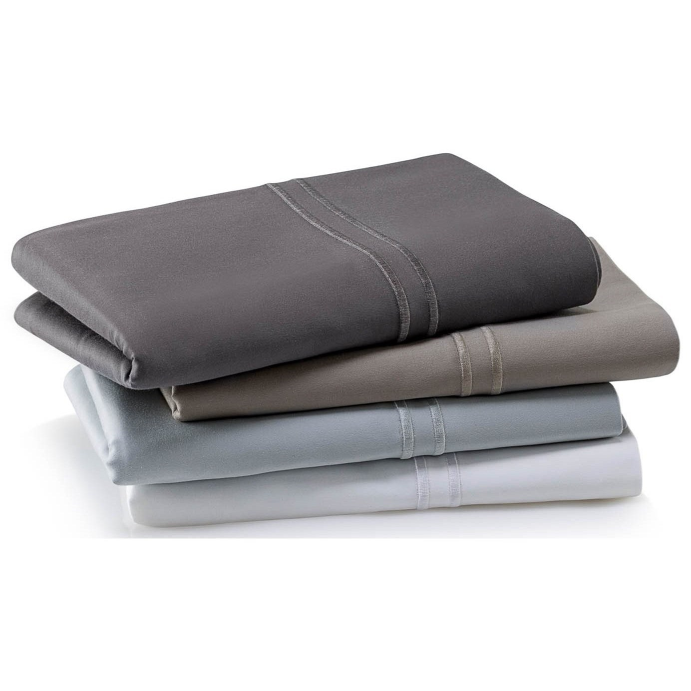Malouf Supima Cotton SmokeQueen Sheet Set ...