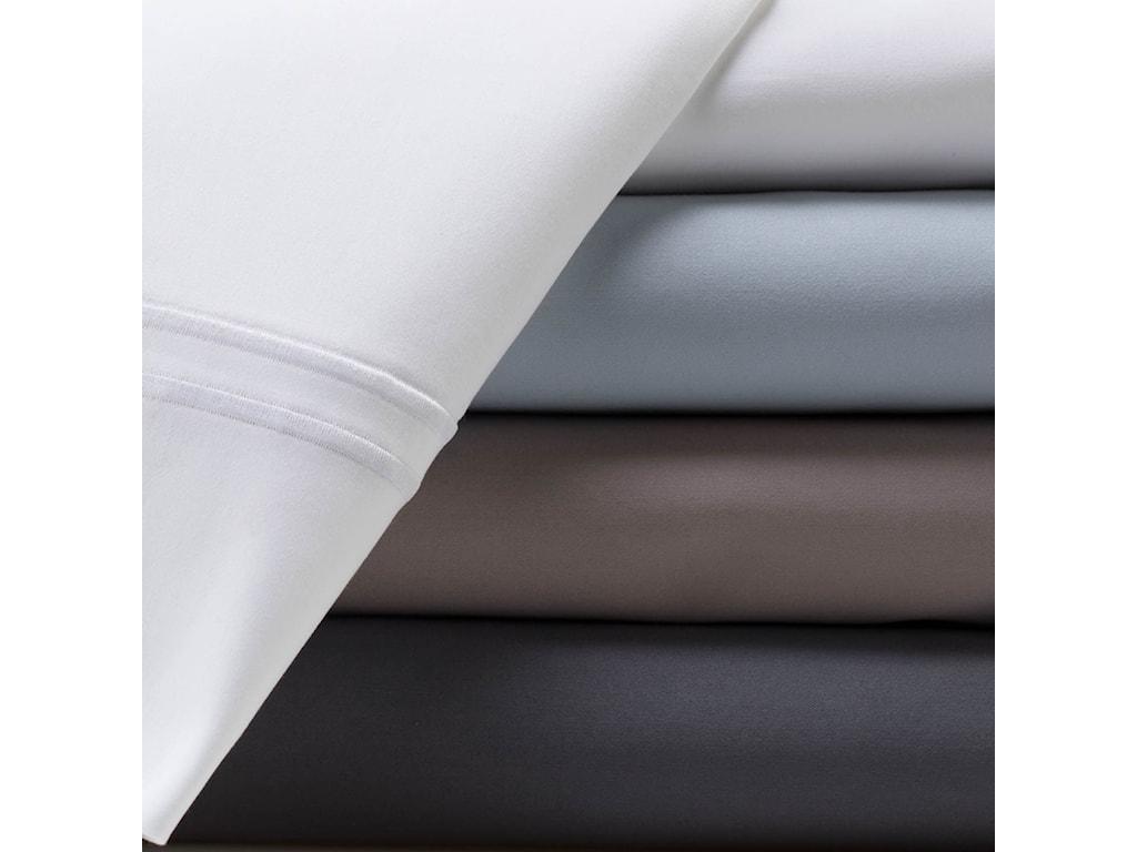 Malouf Supima Cotton FlaxSplit King Sheet Set