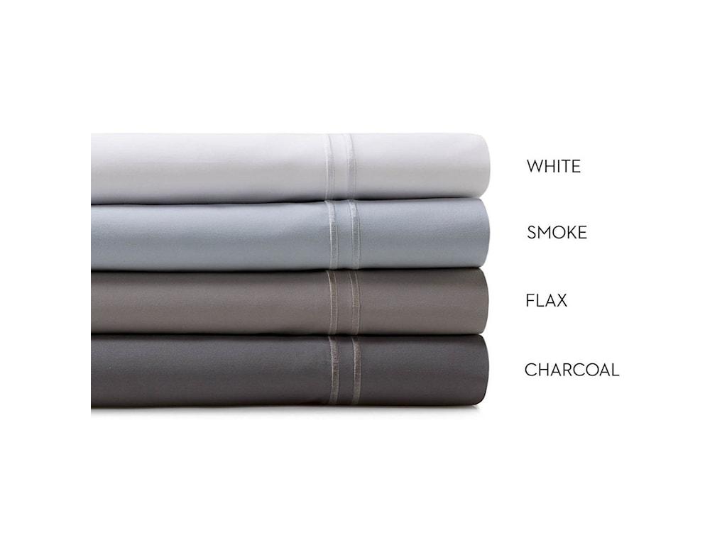 Malouf Supima Cotton WhiteTwin Sheet Set