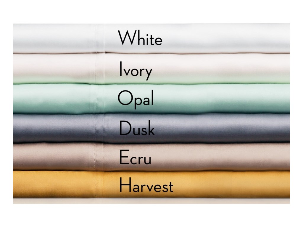 Malouf Tencel IvoryQueen Pillowcases