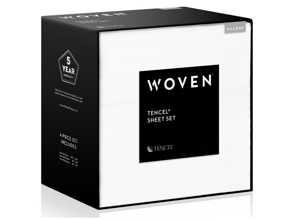 Malouf TENCEL®Twin XL Woven™ TENCEL® Sheet Set