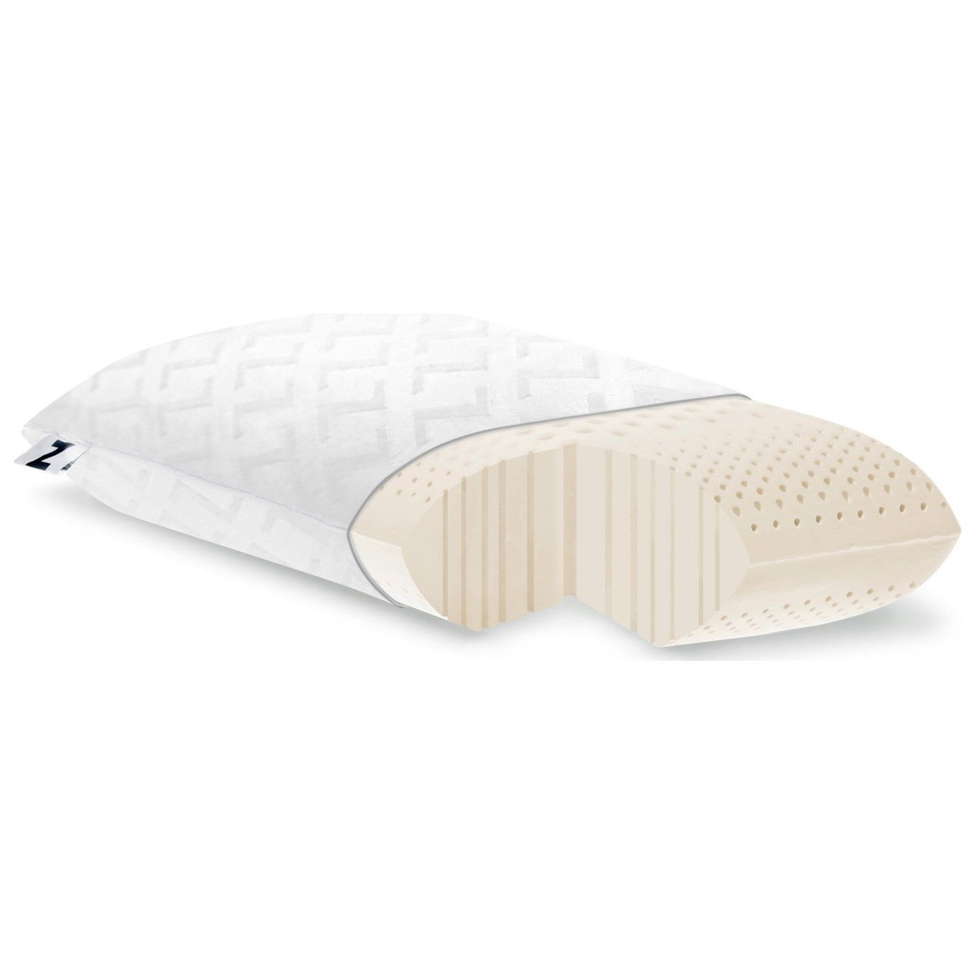 Malouf Zoned Dough Chamomile Queen Pillow