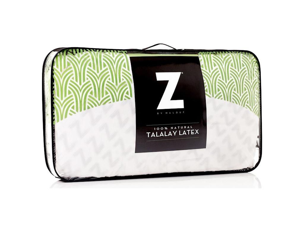 Malouf Zoned Talalay LatexKing Zoned Talalay Latex Firm Pillow
