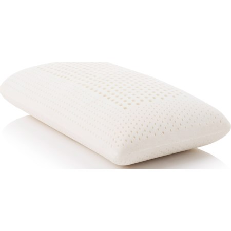 Queen Zoned Talalay Latex Firm Pillow