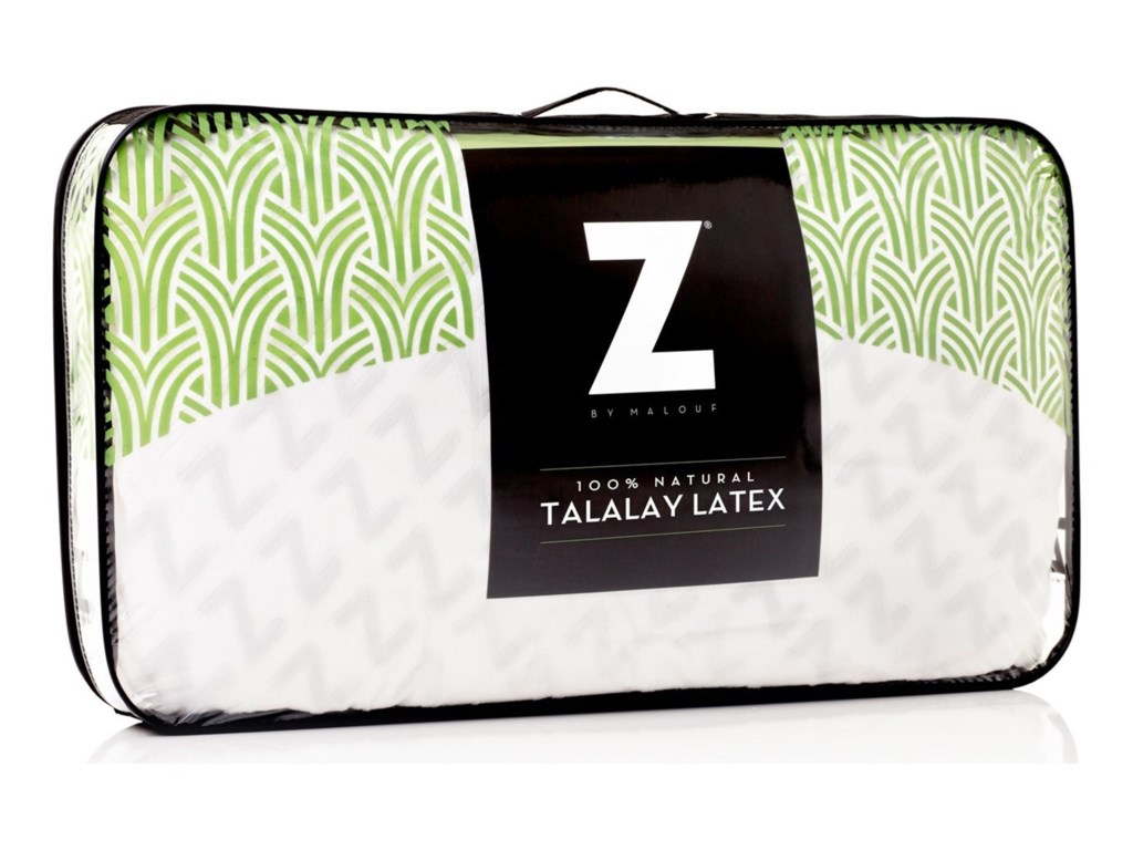 Malouf Zoned Talalay LatexQueen Zoned Talalay Latex Firm Pillow
