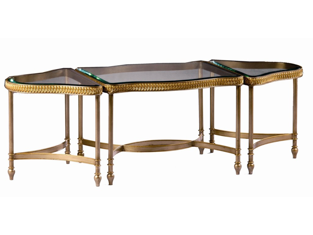 Marge Carson Rue RoyaleBunching Cocktail Table