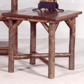 Marshfield Bayfield Tables Rustic Side Table