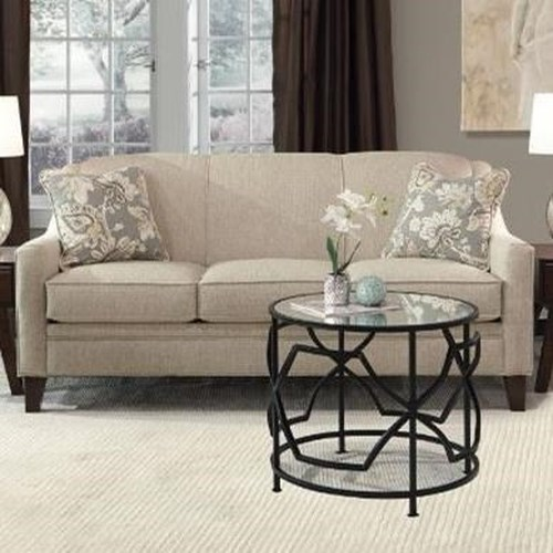 Marshfield Bex Traditional Queen Sleeper Sofa With Sloped Arms Conlin 39 S Furniture Sofa Sleeper