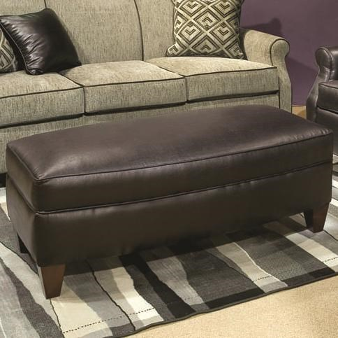 Marshfield Carson Casual Jumbo Cocktail Ottoman Conlin S