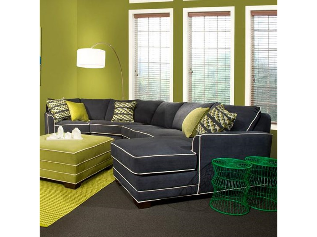 Marshfield Simply Yours3 Pc Custom Built Sectional Sofa