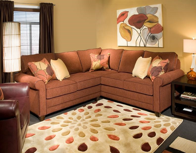 Beau ... Marshfield Simply Yours3 Pc Custom Built Sectional Sofa ...
