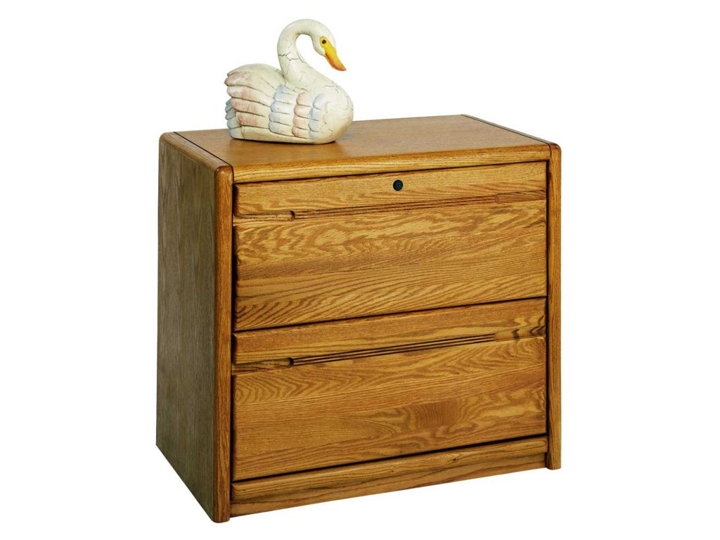 kathy ireland Home by Martin Contemporary 2-Drawer Lateral File