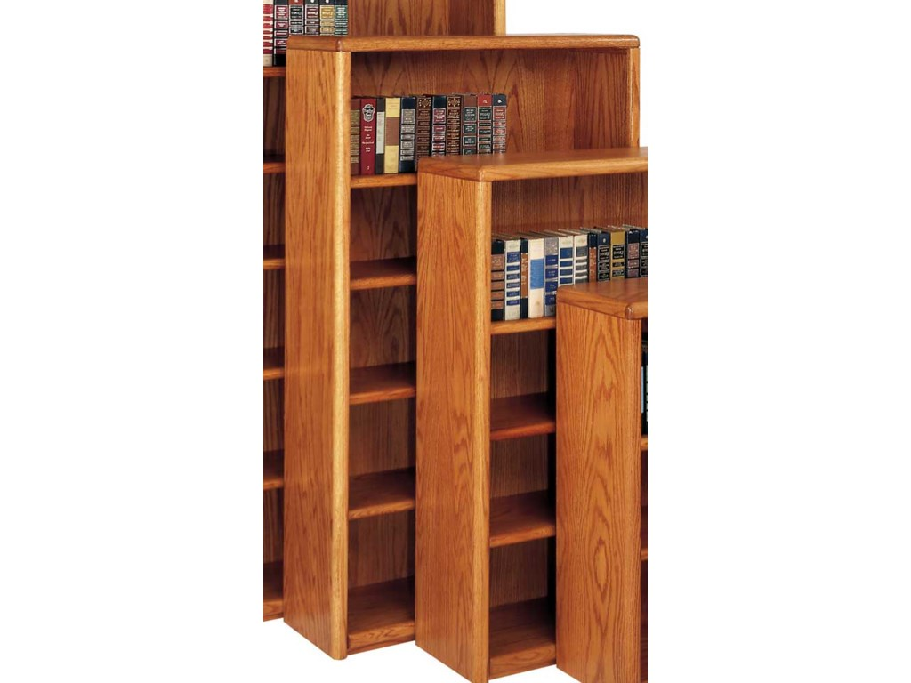 kathy ireland Home by Martin Contemporary Bookcase with 5 Shelves