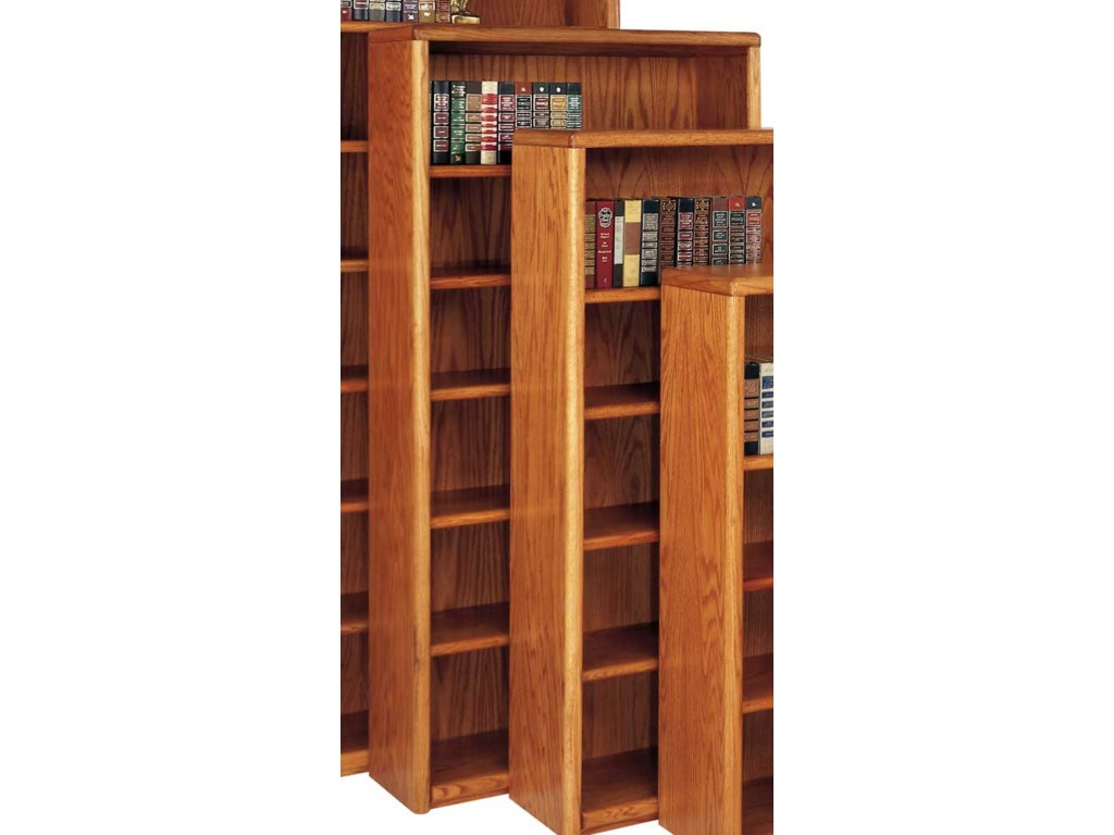 kathy ireland Home by Martin Contemporary Bookcase with 6 Shelves