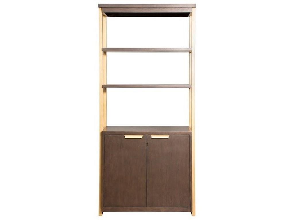 Martin Home Furnishings AxisLower Door Bookcase