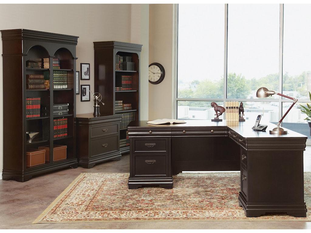 Martin Home Furnishings BeaumontL-Shaped Desk