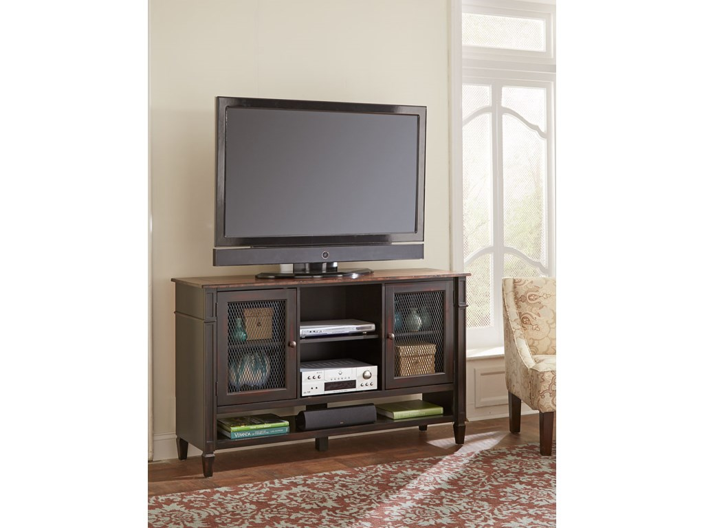 Martin Home Furnishings Eclectic Home Entertainment & StorageDeluxe TV Console