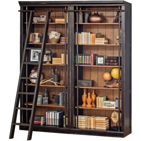 Bookcase and Ladder