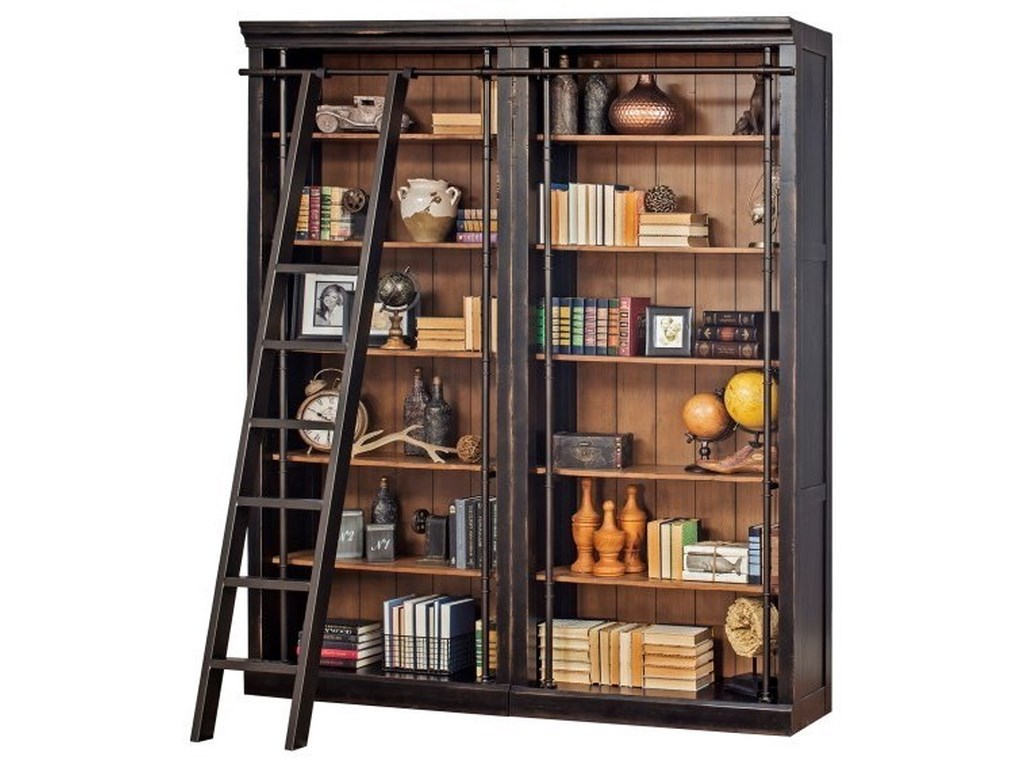 Martin Home Furnishings ToulouseBookcase and Ladder