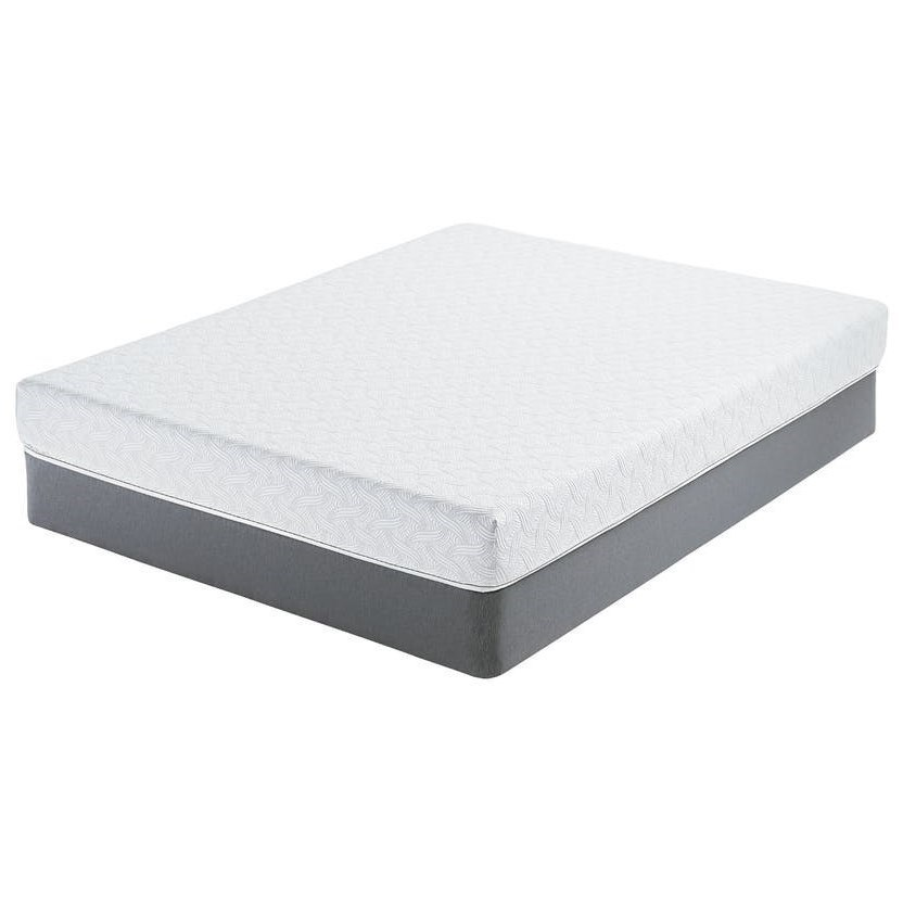 Norburn Plush Twin 7 Gel Memory Foam Mattress And 6 Low Profile